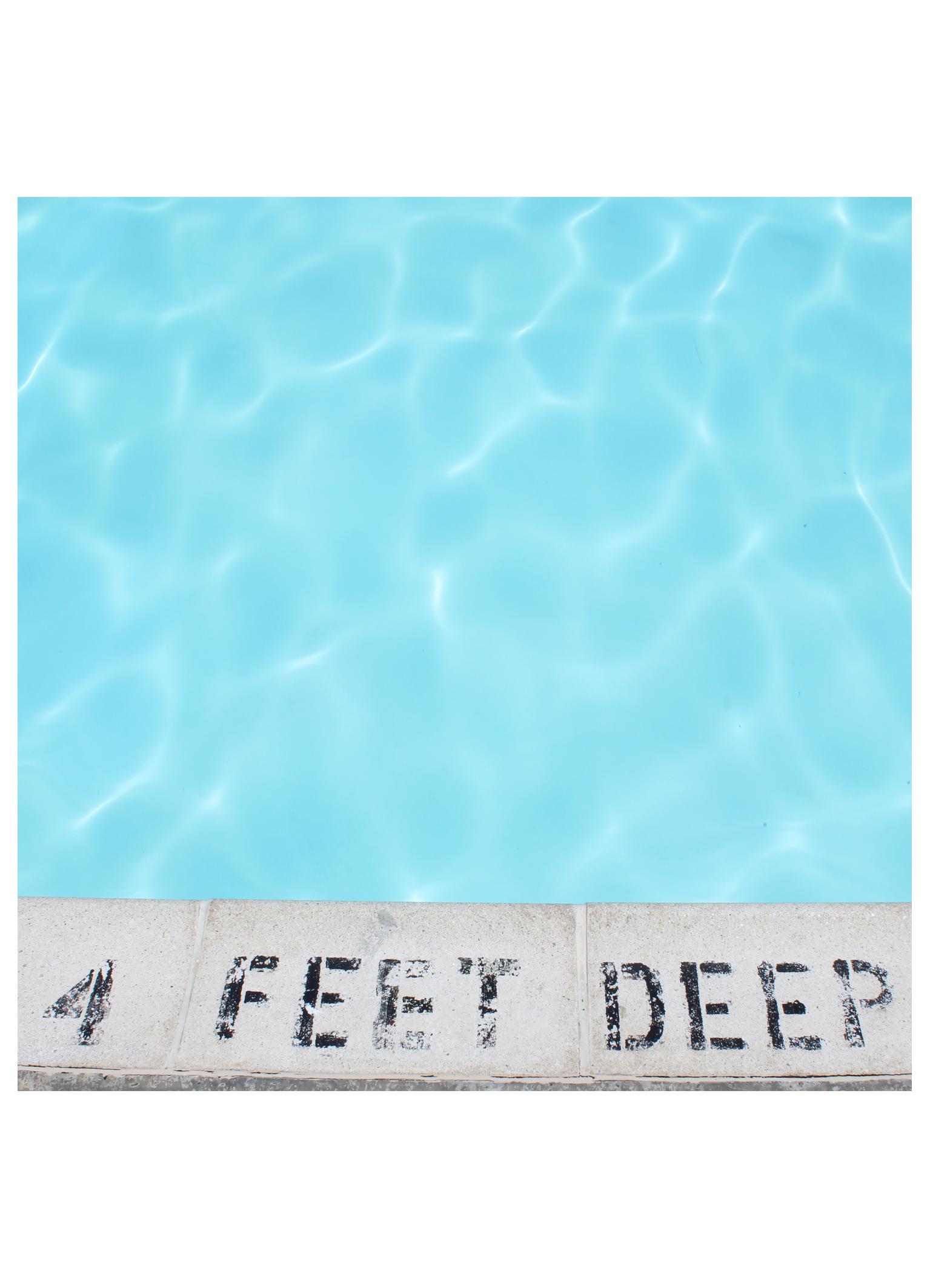 4 feet deep